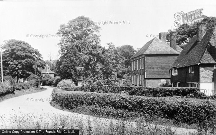 Photo of Westwell, The Village c.1955