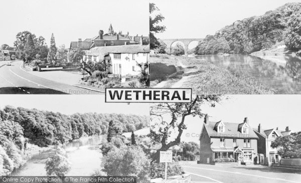 Photo of Wetheral, Composite c.1955
