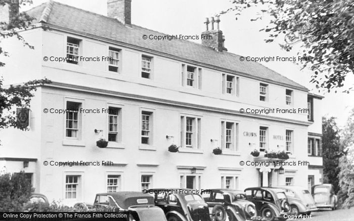 Photo of Wetheral, Crown Hotel c.1950