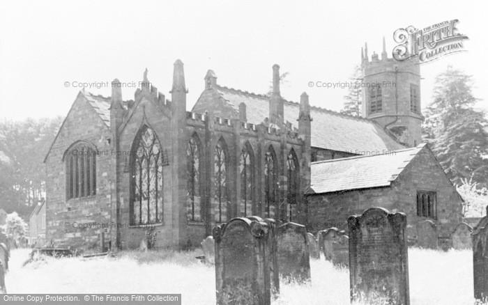 Photo of Wetheral, Holy Trinity Church c.1955