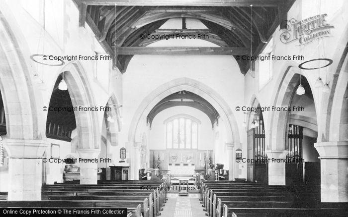 Photo of Wetheral, Holy Trinity Church, Interior c.1955