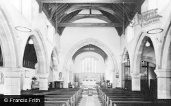 Holy Trinity Church, Interior c.1955, Wetheral
