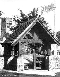 Lychgate And Church c.1965, Wetheral