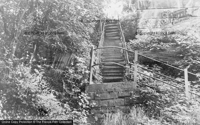 Photo of Wetheral, The 93 Steps c.1955