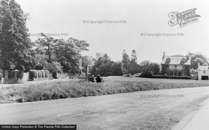 Photo of Wetheral, The Green c.1955