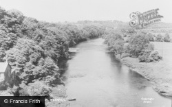The River Eden c.1955, Wetheral