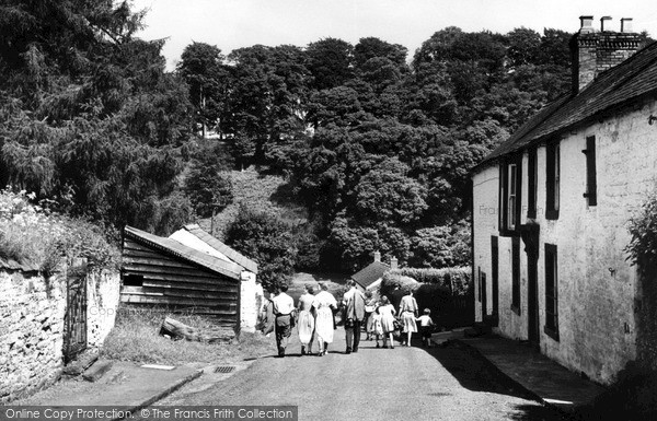 Photo of Wetheral, The Road To The River c.1955