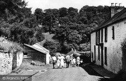 The Road To The River c.1955, Wetheral
