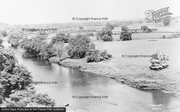 Photo of Wetheral, View From The Bridge c.1955