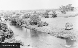 View From The Bridge c.1955, Wetheral