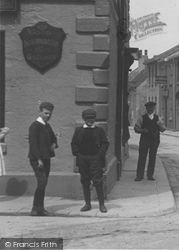 Boys In North Street 1909, Wetherby