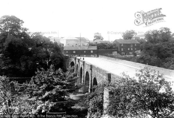 Photo of Wetherby, Bridge Over The River Wharfe 1909