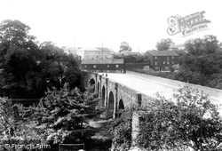 Bridge Over The River Wharfe 1909, Wetherby