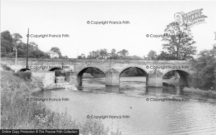 Photo of Wetherby, Bridge Over The River Wharfe c.1965