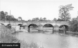 Wetherby, Bridge Over The River Wharfe c.1965