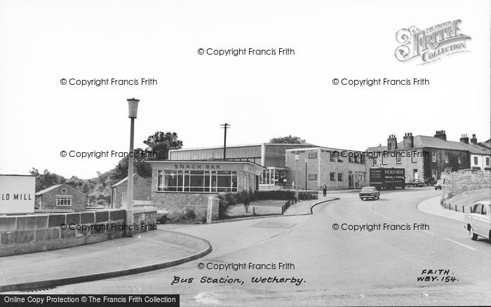 Photo of Wetherby, Bus Station c.1965