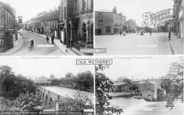 Photo of Wetherby, Greetings From Old Wetherby Composite c.1965