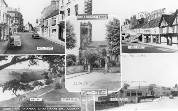 Photo of Wetherby, Greetings From Wetherby c.1965