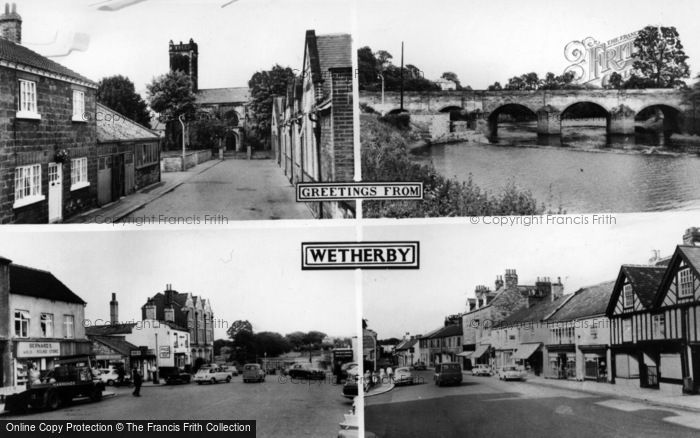 Photo of Wetherby, Greetings From Wetherby Composite c.1965