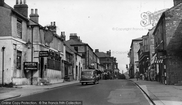 Photo of Wetherby, High Street c.1955