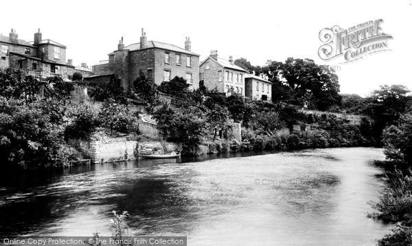 Photo of Wetherby, River Wharfe 1909