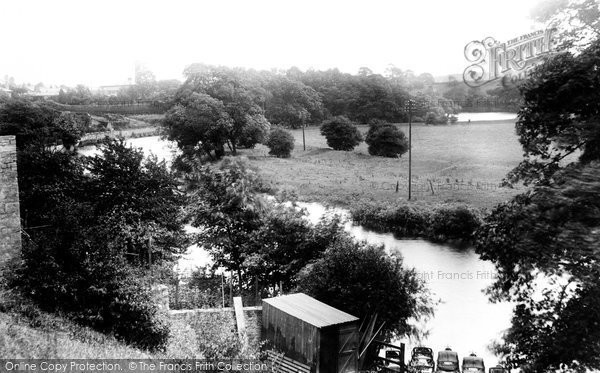Photo of Wetherby, River Wharfe And Boat Station 1909