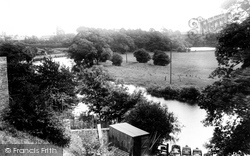River Wharfe And Boat Station 1909, Wetherby
