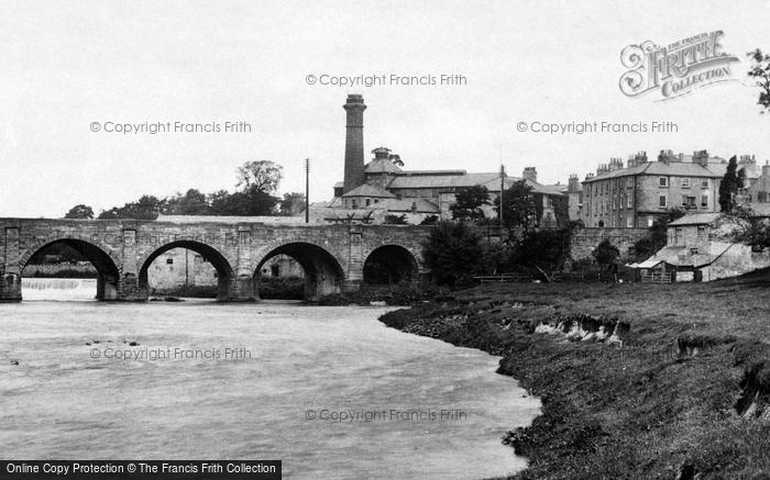 Photo of Wetherby, River Wharfe And Bridge 1909