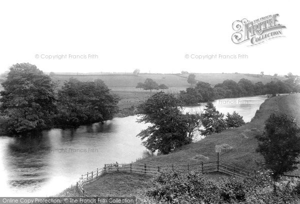 Photo of Wetherby, River Wharfe Near The Station 1909
