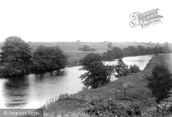 Wetherby, River Wharfe Near The Station 1909
