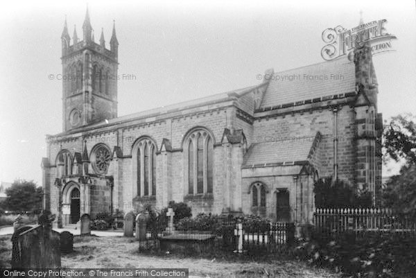 Photo of Wetherby, St James' Church 1909