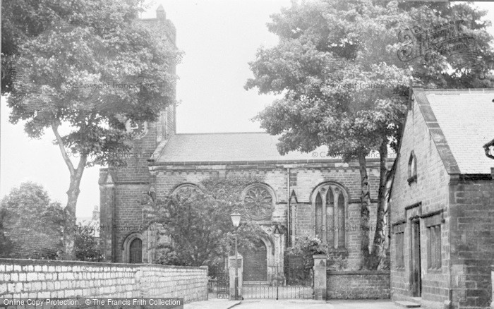 Photo of Wetherby, St James' Church c.1955