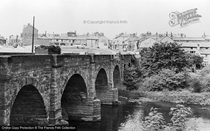 Photo of Wetherby, The Bridge And Town c.1960