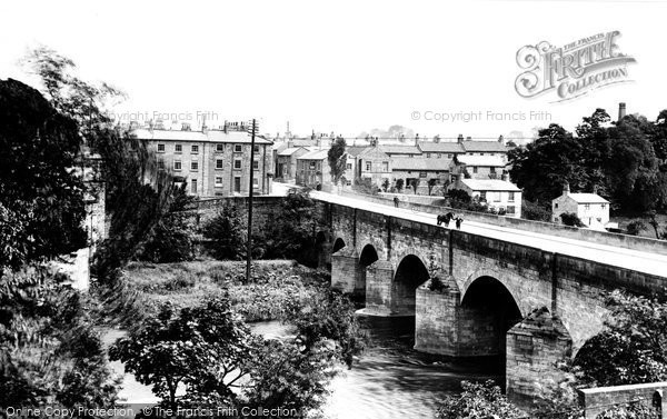Photo of Wetherby, The Bridge Over The River Wharfe 1909