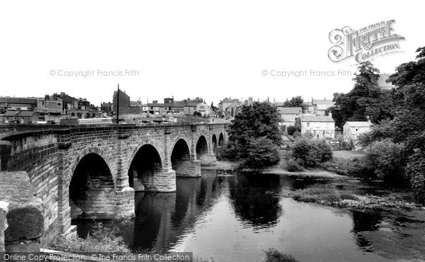 Photo of Wetherby, The Bridge Over The River Wharfe c.1965