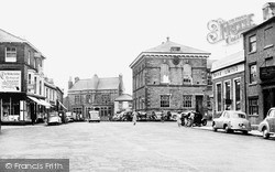 The Market Place c.1955, Wetherby
