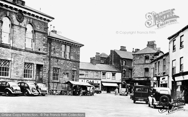 Photo of Wetherby, The Market Place c.1955