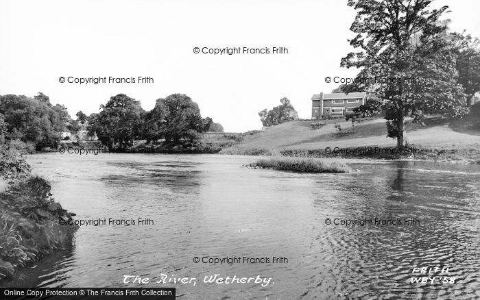 Photo of Wetherby, The River c.1965