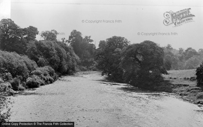 Photo of Wetherby, The River Wharfe c.1955