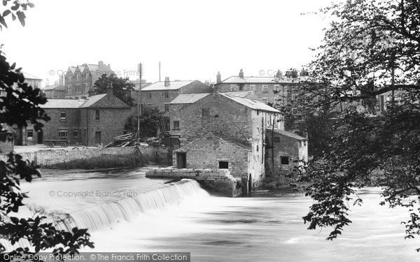 Photo of Wetherby, The Weir On The River Wharfe 1909