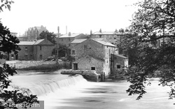Wetherby, The Weir On The River Wharfe 1909