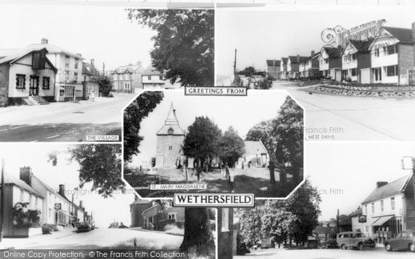 Photo of Wethersfield, Composite c.1965