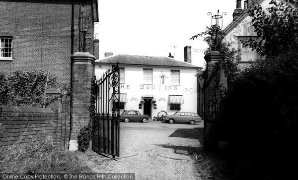Photo of Wethersfield, Dog Inn c.1965