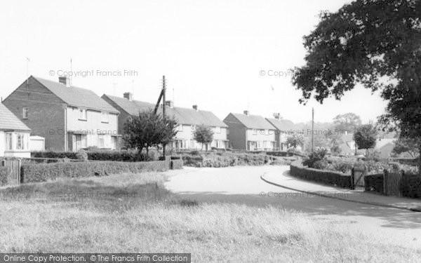Photo of Wethersfield, Saffron Gardens c.1965