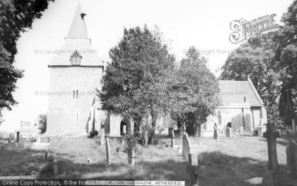Photo of Wethersfield, St Mary Magdalene Church c.1965