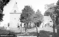 St Mary Magdalene Church c.1965, Wethersfield