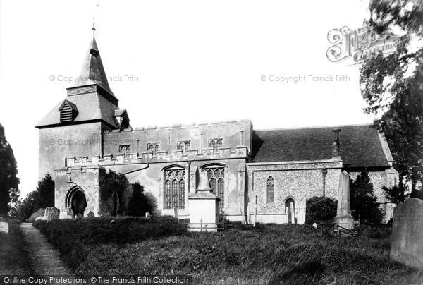 Photo of Wethersfield, St Mary Magdalene's Church 1903