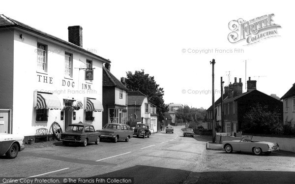 Photo of Wethersfield, The Dog Inn c.1965