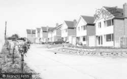 West Drive c.1965, Wethersfield