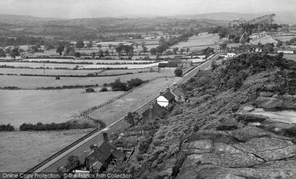 Photo of Wetley Rocks, c.1955